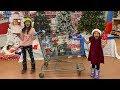 Deema and Sally Play Shopping for Christmas Toys