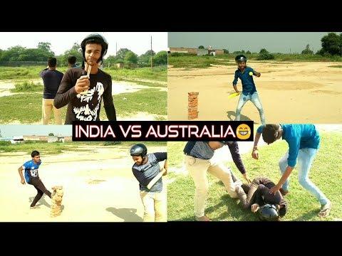 INDIA VS AUSTRALIA || On Desi Stadium || Funny Version || by RR PRANKS TV