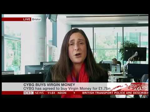 The owner of Clydesdale Bank and Yorkshire Bank, CYBG, has agreed to buy Virgin Money for £1.7bn.
