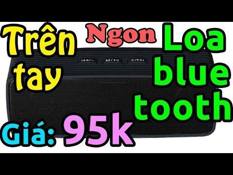 Mở Hộp Loa Bluetooth Ngon Rẻ Giá 95k (SUNTEK JC-170 Lazada)