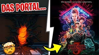 😨 TODAY STRANGER THINGS Skins in the Fortnite Shop - The portal is now here...