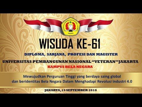 PROSESI WISUDA KE-61 UPN VETERAN JAKARTA Mp3