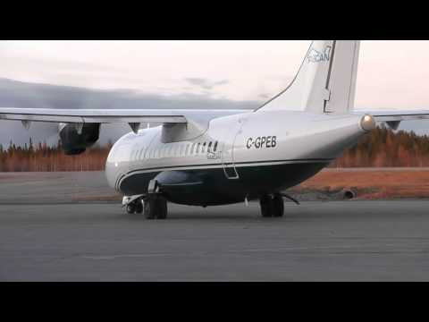 Pascan Aviation | ATR 42-300 startup and takeoff | C-GPEB | Val-d'Or (CYVO)