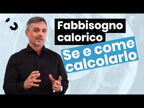 Se E Come Calcolare Il Fabbisogno Calorico | Filippo Ongaro