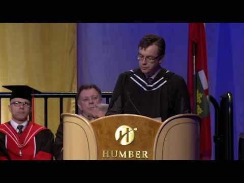 Greg Wells - Honorary Degree Recipient - Humber Spring Convocation 2015