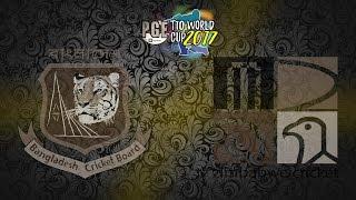 pge t10 world cup 2017 bangladesh v zimbabwe group 1 match 13