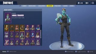 SELLING/TRADING MY 100+ SKIN FORTNITE ACCOUNT // GHOUL TROOPER, RENEGAIDE RAIDER, SCYTHE & MORE!