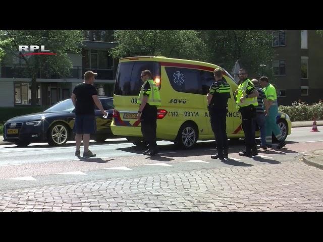 Aanrijding scootmobiel op Rembrandtlaan