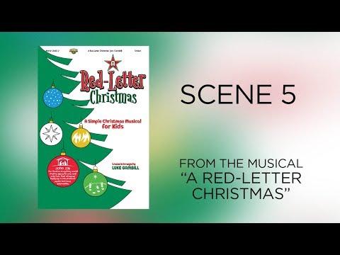 Scene 5  A RedLetter Christmas A Simple Christmas Musical for Kids