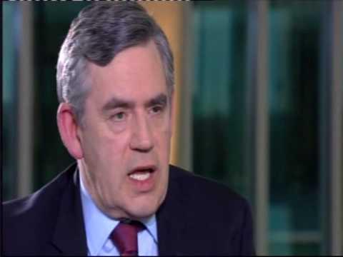 Jeremy Paxman vs Gordon Brown