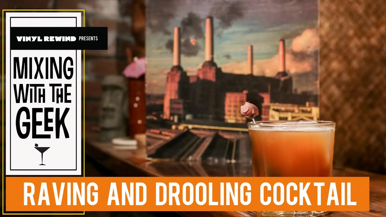 Pink Floyd cocktail - Raving And Drooling   Mixing with the Geek