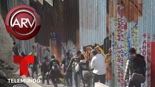 Caravana de migrantes desafían operativos de Trump | Al Rojo Vivo | Telemundo