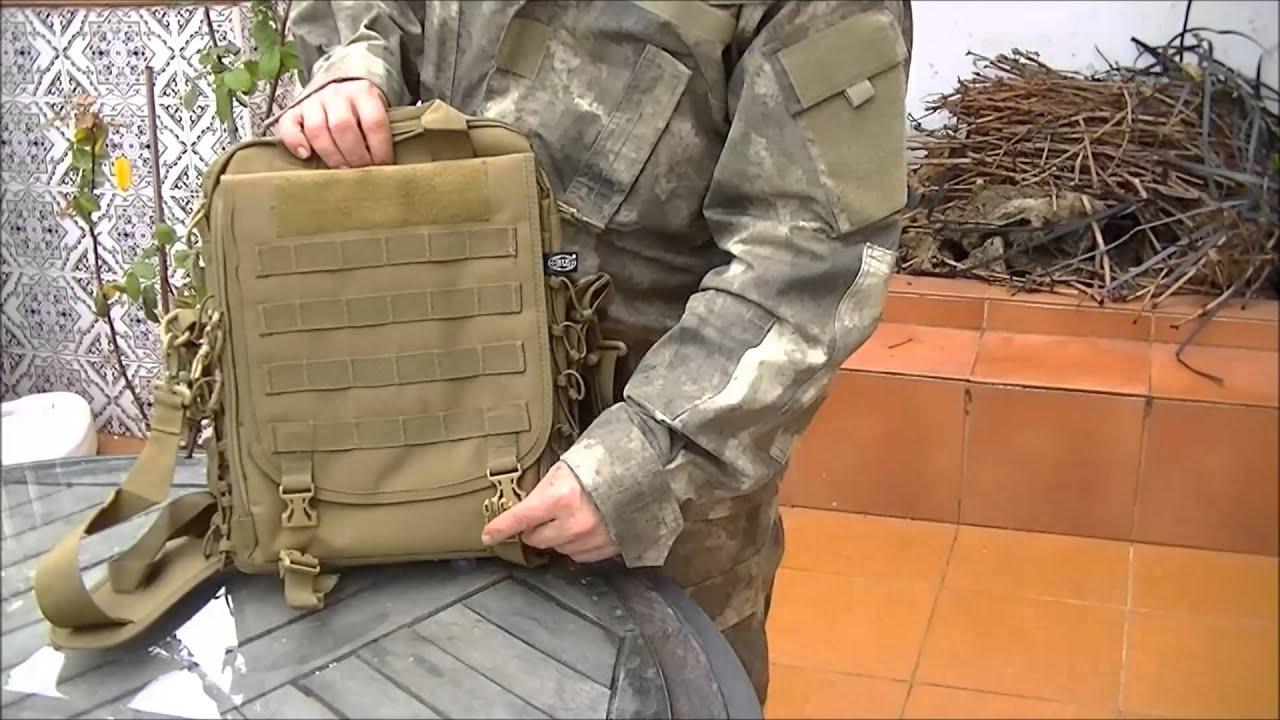 bolso mochila molle de mfh shoulder bag and rucksack in one youtube. Black Bedroom Furniture Sets. Home Design Ideas