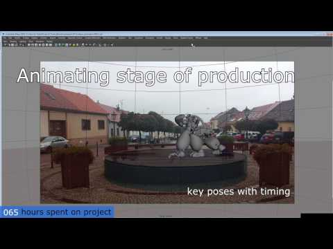 Drum n Bass/Drumstep Mix + Droid VFX - Making of (timelapse)