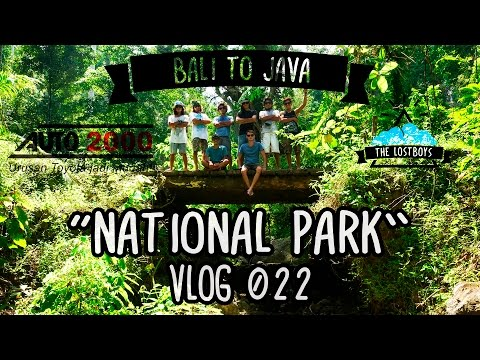 National Park - BALI TO JAVA (AUTO2000) - VLOG #2
