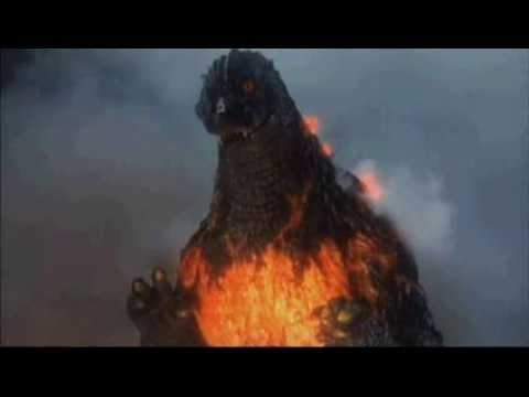 Burning Godzilla Roars - YouTube