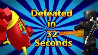 Defeating Chronos XL in 32 Seconds! R2DA
