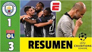 Manchester City vs Lyon SORPRESA, eliminación y un nuevo FRACASO de Guardiola en la Champions League