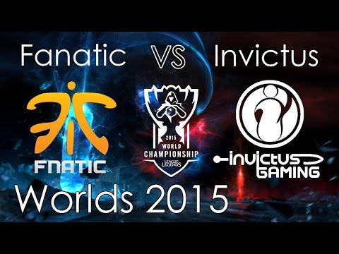 Fanatic v Invictus LoL Worlds 2015 - ReplayVOD