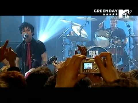 Green Day MTV Live In Italy 2005