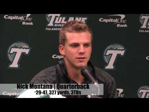 Post game: South Alabama 41, Tulane 39, September 7, 2013