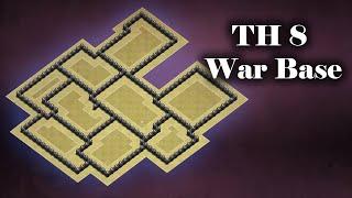 TH 8 War Base (IV) Anti 3 Star | Clash of Clans