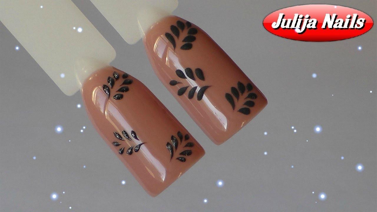 очень простой дизайн ногтей