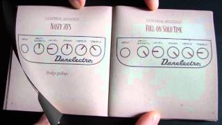 Instruction Manual For Danelectro Nifty Fifty amplifier. Thumbnail