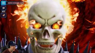 Ghost Rider Is So Much Fun! - MARVEL Strike Force - MSF