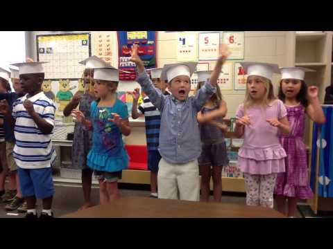 Luke's Kindergarten Graduation Song: Being Me: 6 year old son's kindergarten graduation performance :)