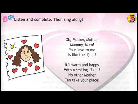 Spotlight. Английский язык. 3 класс. Mother's Day. Стр.141. Упражнение 3.