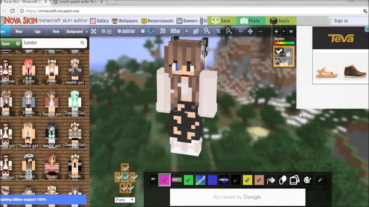 Intro And Minecraft Skin Edit  Slay  First Video! - YouTube