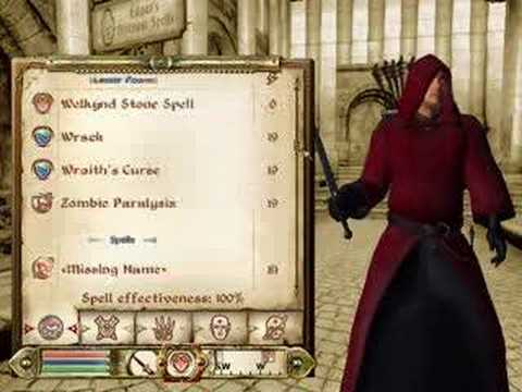 Oblivion - Fun With Spellmaking