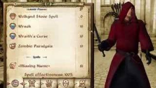 Oblivion - Fun With Spellmaking