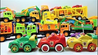 New super police car collections toys, truck toys and car toys for kids