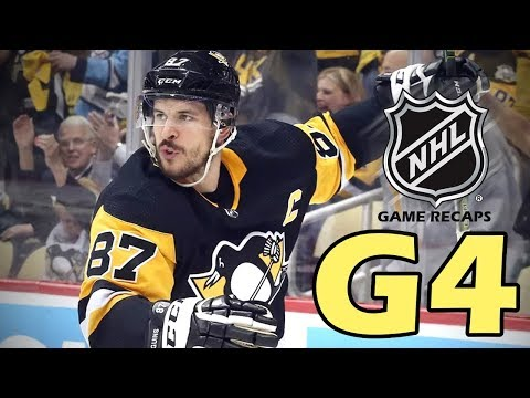 Washington Capitals vs Pittsburgh Penguins. 2018 NHL Playoffs. Round 2. Game 4. 05.03.2018. (HD)