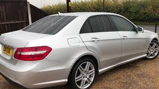 2011 MERCEDES-BENZ E CLASS 2.1 E250 CDI BLUEEFFICIENCY SPORT FOR SALE | CAR REVIEW VLOG