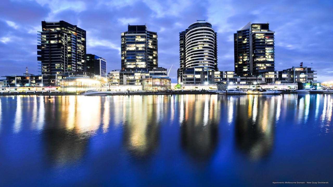 Apartments Melbourne Domain - New Quay Docklands - YouTube
