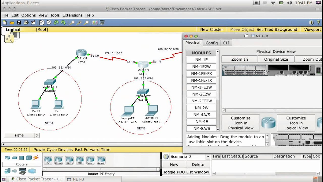 how to configure ospf on cisco packet tracer youtube
