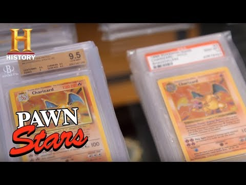 Pawn Stars: Stacks of Pristine 10 Charizard Pokemon Cards (Season 14) | History