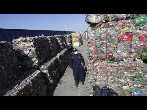 China Is Officially Enacting a Plastic Waste Import Ban