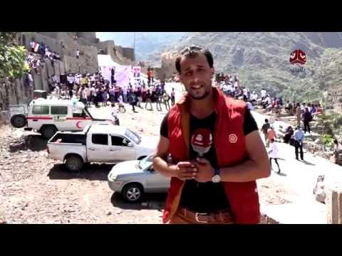 مارثون رياضي في تعز بمناسبة العيد الـ56  لثورة سبتمبر   | تقرير عبدالعزيزالذبحاني