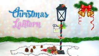 Christmas Crafts christmas lantern street lamp DIY- Isa ❤️
