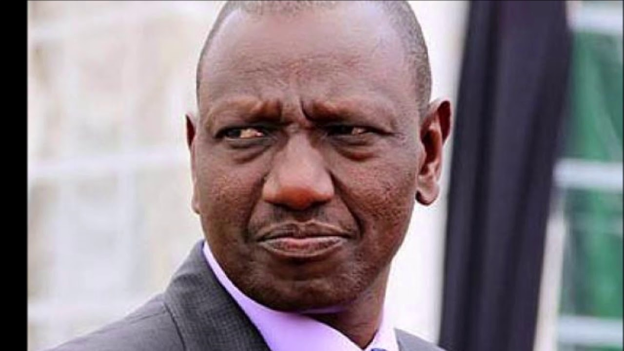 Image result for Sad Ruto