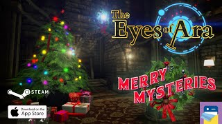 the Eyes of Ara: Merry Mysteries Christmas Update Part 2 & iOS Gameplay (by 100 Stones Interactive)