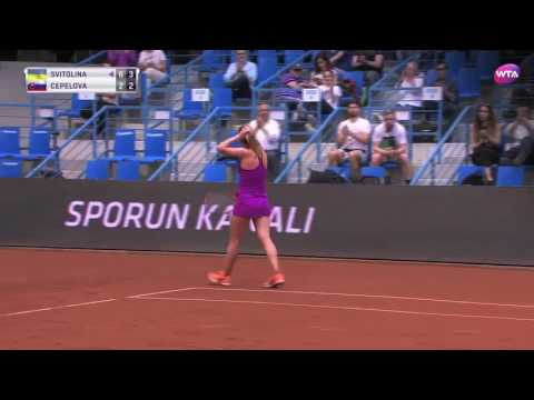 2017 Istanbul Cup Semifinals | Shot of the Day | Elina Svitolina