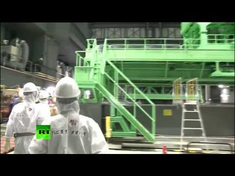 Video from Fukushima: Japanese media given rare look inside stricken nuclear plant