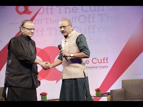 Off The Cuff with Union Minister Arun Jaitley