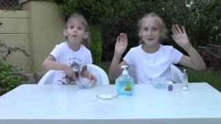 Tuz ve Sıvı Sabunla Slime Yapımı
