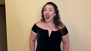 Madeline Stern sings Sempre libera